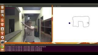 Kinect: HandTracking with Python + OpenNI(PyOpenNI) + OpenCV