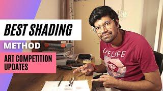Kaise karein shading 😫 | Art competition Live updates