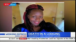 23 year old university student killed by boyfriend over infidelity claims