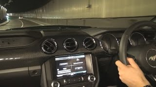 2016 Ford Mustang GT Ride in Monaco| Tunnel Sound, Revs & Accelerations