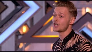 "Jordan Rabjohn: He Amazes Judges With His ""Cheesy Song""   The X Factor UK 2017"