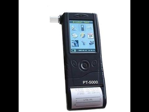 PT5000P Breath Analyzer Inbuilt Printer