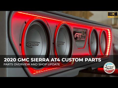 2019-2021 GMC Sierra - Chevrolet Silverado Custom Made Amplifier Rack/Plate/Board