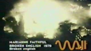 Marianne Faithul / Broken English