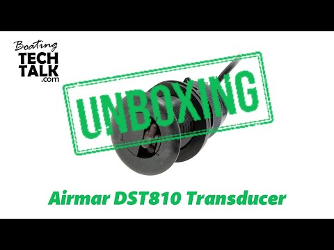 Airmar DST810 Smart Transducer UnBoxing and Product Review
