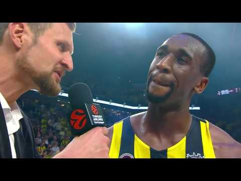 Post-game Interview: Ekpe Udoh, Fenerbahce Istanbul