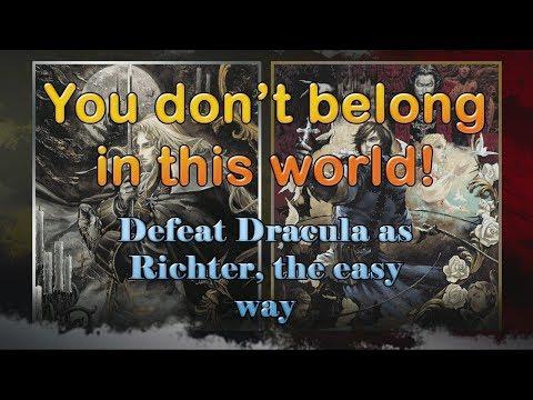 Castlevania Requiem: Rondo of Blood - How to defeat Dracula