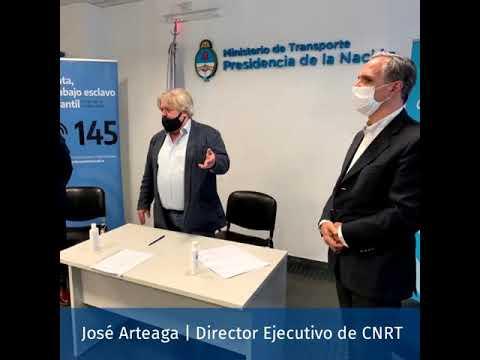 La CNRT profundiza acciones para la lucha contra la trata de personas