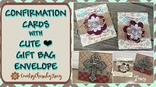 Confirmation Cards & Gift Bags - DIY Process Start to Finish - Part 2