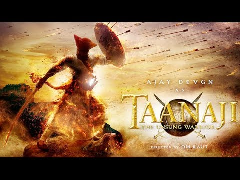 Taanaji : The Unsung Warrior Official Trailer (2019) Ajay Devagan  Movie HD