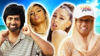 Nicki Minaj, Ariana Grande - Bed   My Parents React (Ep. 29)