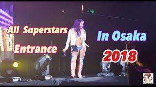 WWEliveOsaka2018AllDivassuperstarsEntranceWWE日本公演
