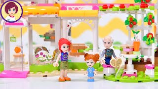 Lego Friends Organic Cafe Build & Review