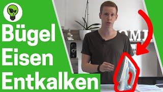 Bügeleisen entkalken ✅ ULTIMATIVE ANLEITUNG: Dampfbügeleisen Kalk entfernen!!!