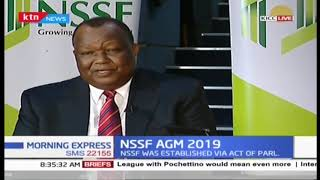 NSSF AGM 2019: One on One with NSSF Board Chair Rtd. Gen Julius Karangi