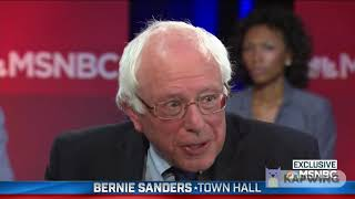 Bernie Sanders - You shouldn't listen to me if I tell you who to vote for.