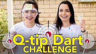 Q-TIP DART CHALLENGE - MERRELL TWINS