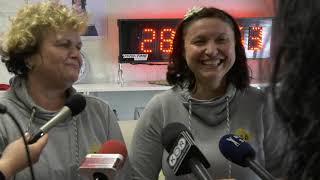 Izjava tekmovalk Jadranke Smiljić in Anite Kac, po končanem več kot 28-urnem neprestanem kvačkanju