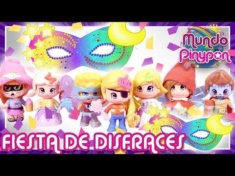 FIESTA de DISFRACES 🎭 ¡Los Pinypon celebran CARNAVAL con un MIX is MAX muy loco!