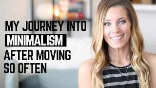 My Journey into Minimalism After Moving | Intentional/Simple Living Lifestyle