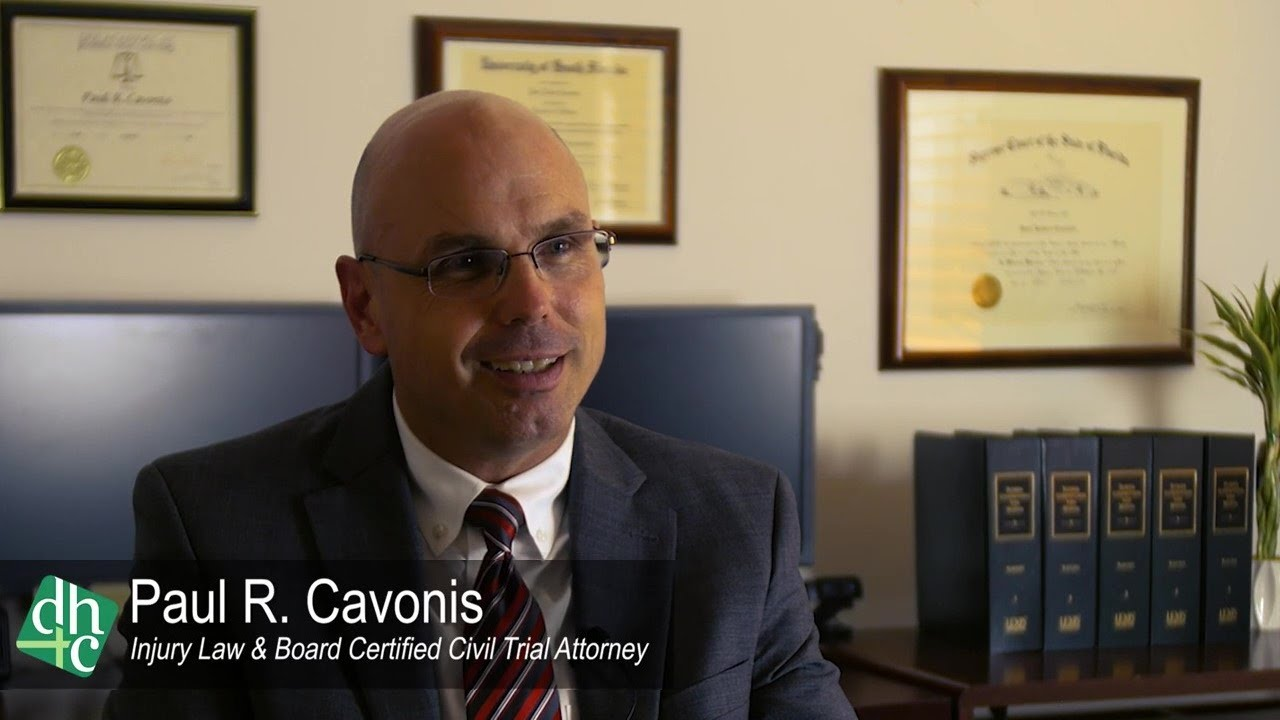 Meet Personal Injury Lawyer Paul Cavonis
