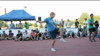 One great battle of Freestyle soccer between two great players Andrew Henderson