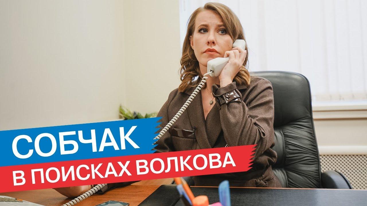 Собчак в поисках префекта ЮЗАО Волкова
