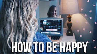 HOW TO LIVE A HAPPIER AND HEALTHIER LIFE!