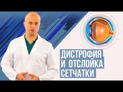 Дистрофия и  отслойка сетчатки. Симптомы, диагностика, лечение.