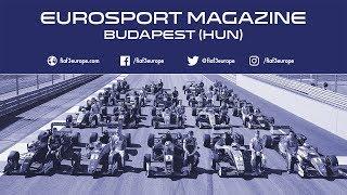The FIA F3 Eurosport Magazine from Hungaroring has been uploaded on YouTube
