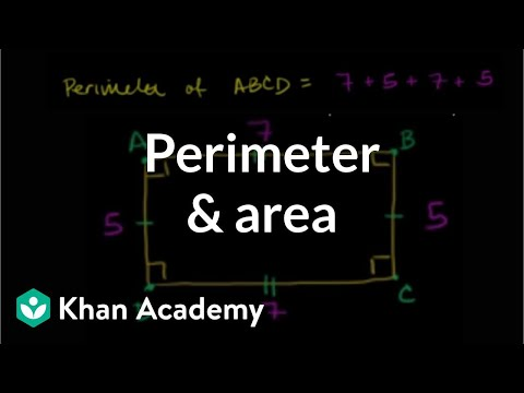 A thumbnail for: Perimeter, area and volume