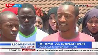 Wanafunzi wa KMTC-Kakamega walalamika baada ya kutosajiliwa kufanya mtihani, watasubiri miaka miwili