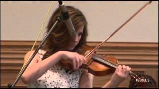 музыкальное произведение на скрипке.