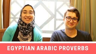 Egyptian Arabic Proverbs with Bertrand