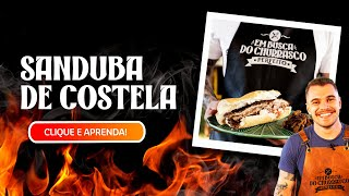 SANDUÍCHE de COSTELA + CEBOLA CARAMELIZADA: aprenda a preparar
