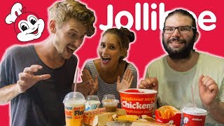 Europeans try JOLLIBEE for the FIRST TIME!  | Cebu City, Philippines - Vlog #63