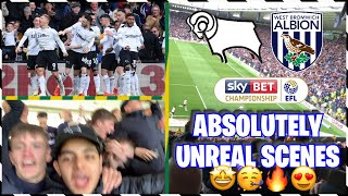 PLAYOFFS CONFIRMED ON THE FINAL DAY🤪✅ | DERBY COUNTY Vs WEST BROM *MATCHDAY VLOG!* 🔥SCENES🔥
