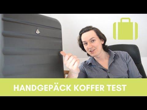 [Handgepäck Koffer im Test] Aerolite Leichtgewicht 55x40x20cm (2018)