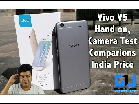 Vivo V5 India Hands on, India Price, Camera, Comparison, Not a Review | Gadgets To Use