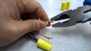 How To Connect Electrical Wires Together (Tutorial)