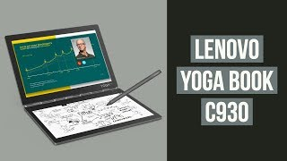 Lenovo Yoga Book C930 First Look | IFA 2018