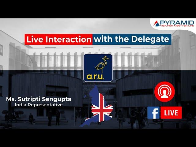Anglia Ruskin University Live Session!!