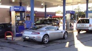 Reactions on the Street to My Aston Martin