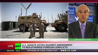 'We need to continue efforts to wake up American people' - Ron Paul on anti-war amendment fight
