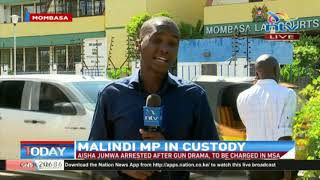 MP Jumwa exonerated in the Ganda ward shooting but still locked up in