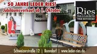preview picture of video 'Ries - Mode in Leder & Pelz in Bonndorf im Schwarzwald'