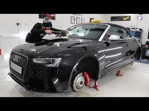 Impressive 70.5-hour car detailing