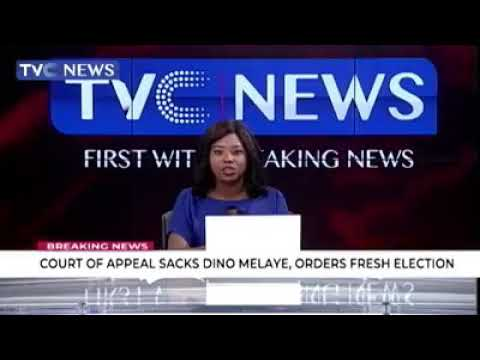 Nigeria Court of appeal sacks Senator Dino Melaye representing Kogi west at the upper chamber,