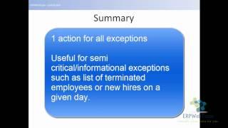 Understanding Oracle Alerts