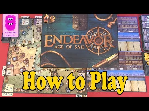 How to play - Endeavor: Age of Sail